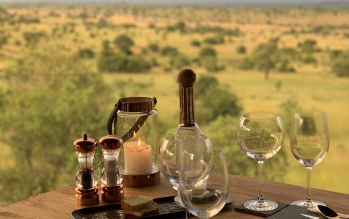 Nimali Mara view out to the Serengeti Plains, Tanzania