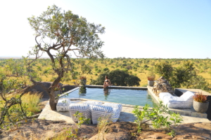 Nimali Mara - views from the pool