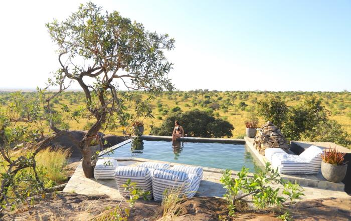 Nimali Mara - views from the pool