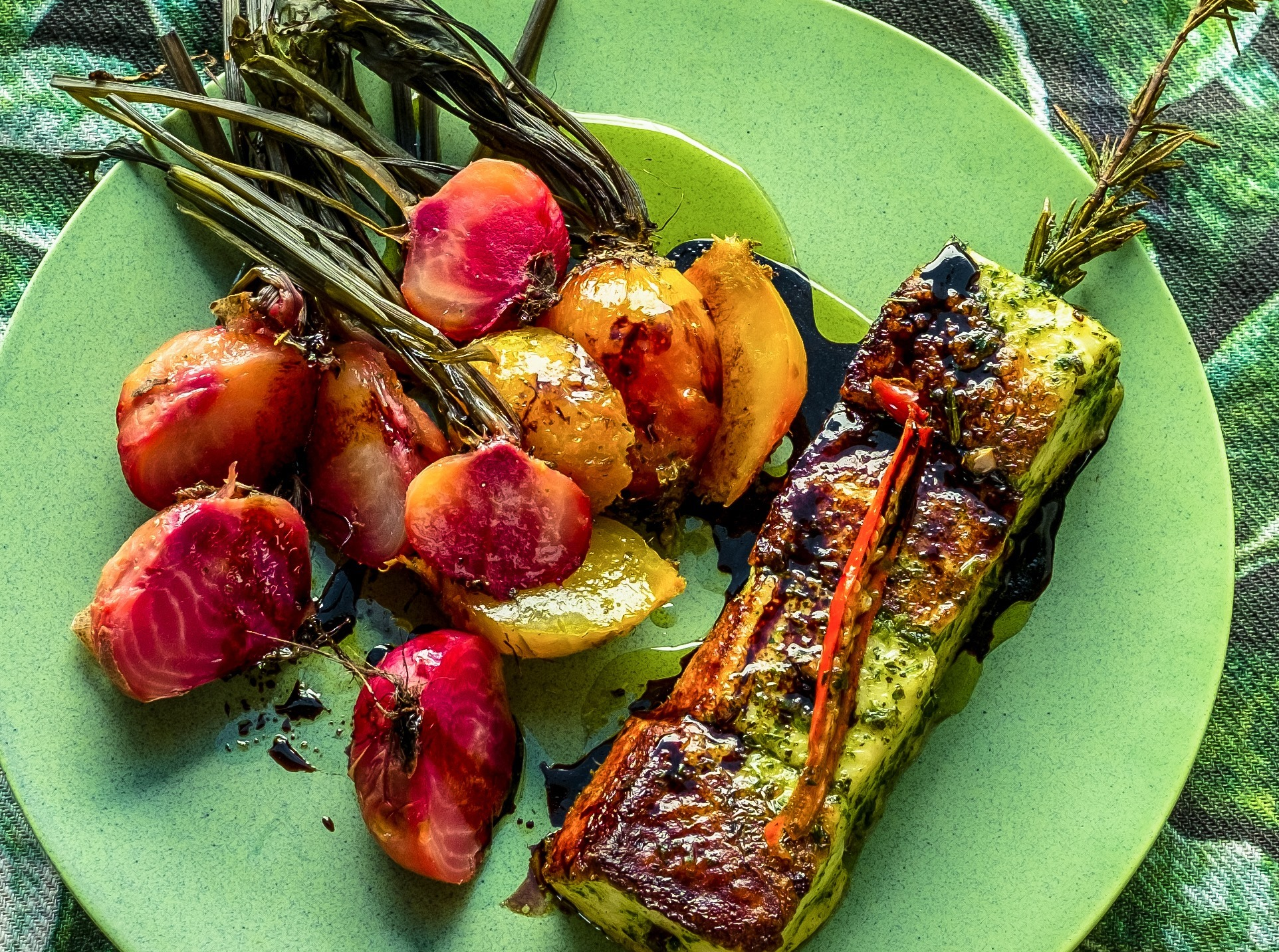 Delicious farm to fork food at Babylonstoren