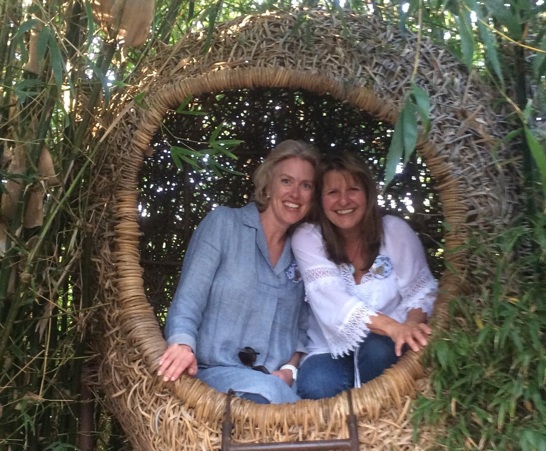 In the weavers nest at Babylonstoren