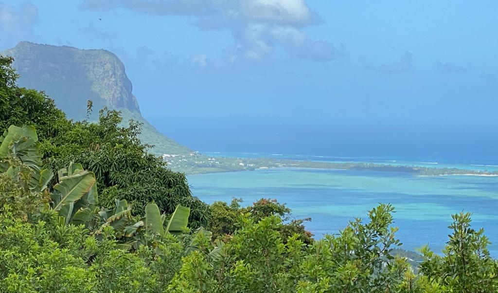 View of La Morne, Mauritius