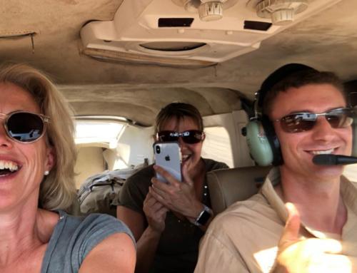 Helen & Sally on safari in Zambia with Remote Africa Safaris