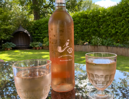 Summer is here and the Babylonstoren Rose is on ice