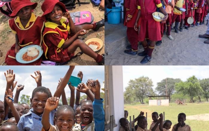 School feeding with Imvelo