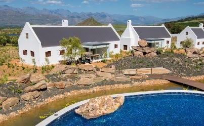 Views from Fynbos @Babylonstoren, Cape Winelands, South Africa