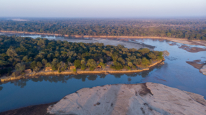 Takwela aerial sunrise view