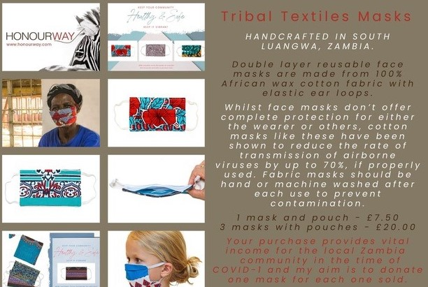 Tribal Textiles Face Masks
