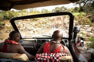 Porini game drives with the best guides in Kenya